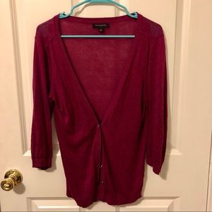 *4/15* Banana Republic Purplish Cardigan
